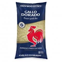 Arroz Gallo Dorado 5Lb.