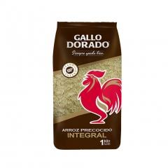 Arroz Gallo Dorado Integral 5Lb.