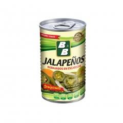 0. B&B Jalapeño Semipicante 180g.