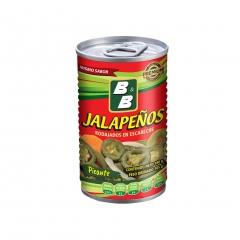 0. B&B Jalapeño Picante 180g.